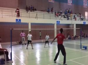 Zilla Parishad Matches- Badminton